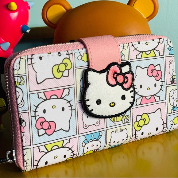 b03425ab2 Hello Kitty Bags | Comic Friends Wallet X Loungefly | Poshmark